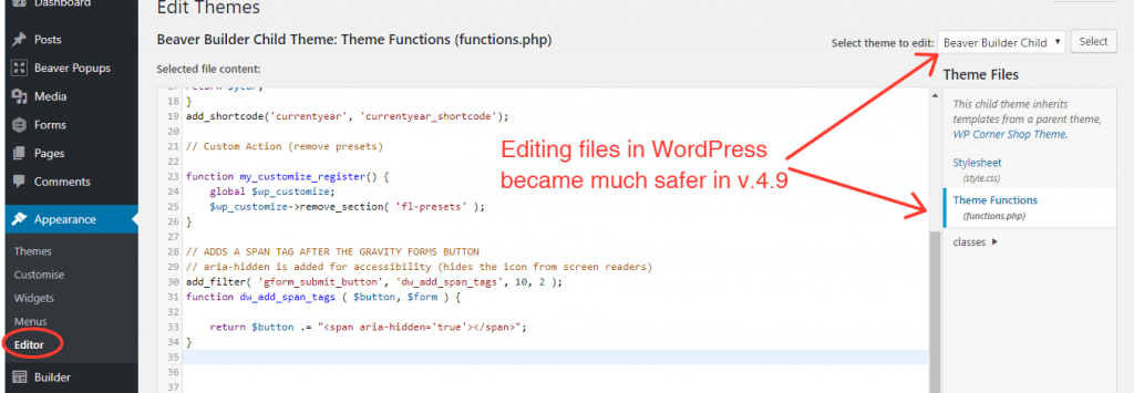 Editing-functions-php